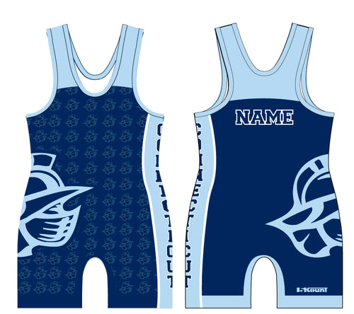 Bristol Gladiators Sublimated Singlet  Navy Blue - 5KounT2018