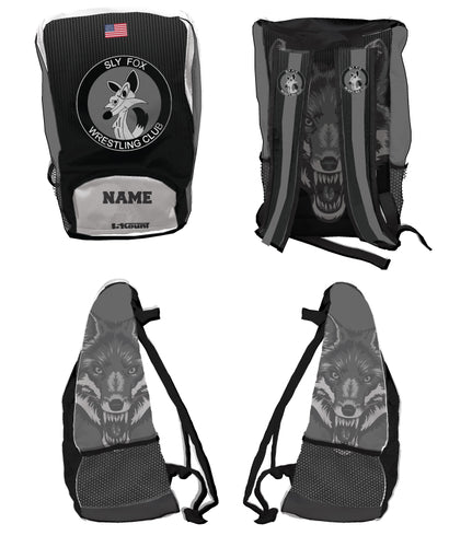Sly Fox Wrestling Club Sublimated Backpack