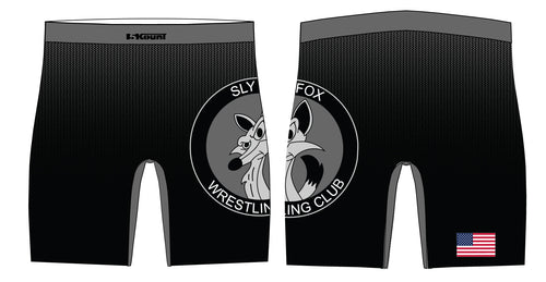 Sly Fox Wrestling Club Sublimated Compression Shorts