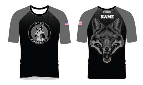 Sly Fox Wrestling Club Sublimated Fight Shirt