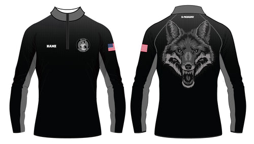 Sly Fox Wrestling Club Sublimated Quarter Zip