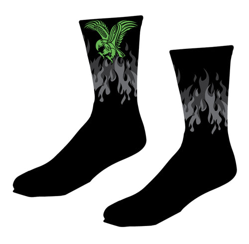 RedHawk Wrestling Club Sublimated Socks - 5KounT2018