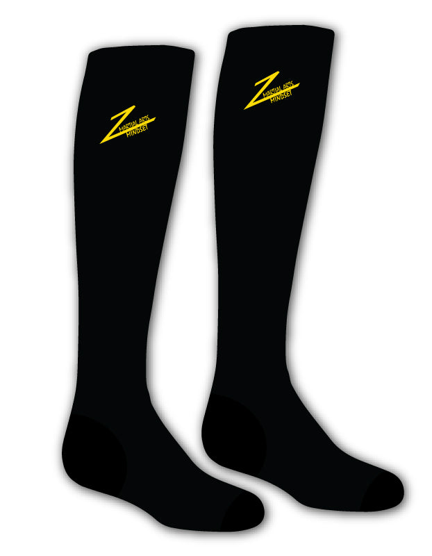 Martial Arts Mindset Sublimated Socks