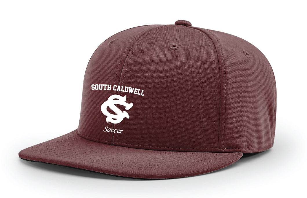 South Caldwell Soccer FlexFit Cap - Maroon
