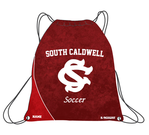 South Caldwell Soccer Sublimated Drawstring Bag - 5KounT2018