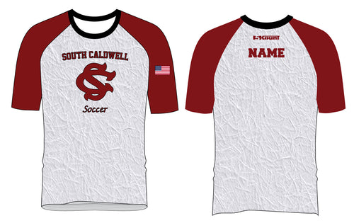 South Caldwell Soccer Sublimated Fight Shirt - 5KounT2018