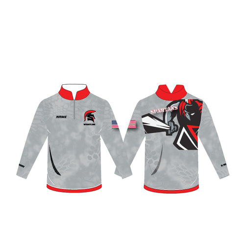 Southern HS Sublimated Quarter Zip - 5KounT2018
