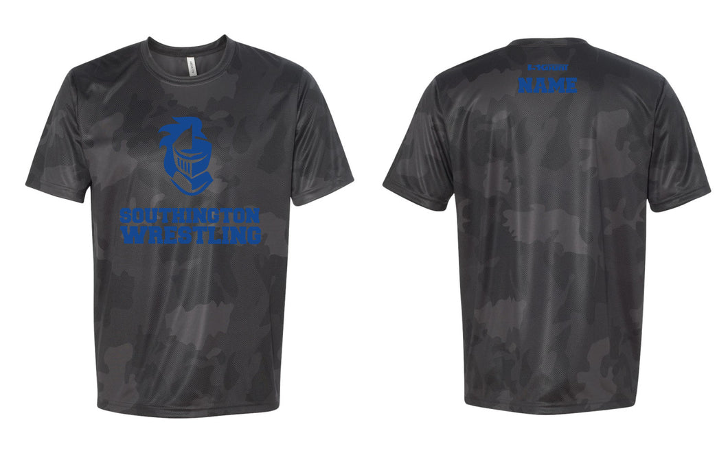 Southington HS Laser Camo Tech Tee - 5KounT