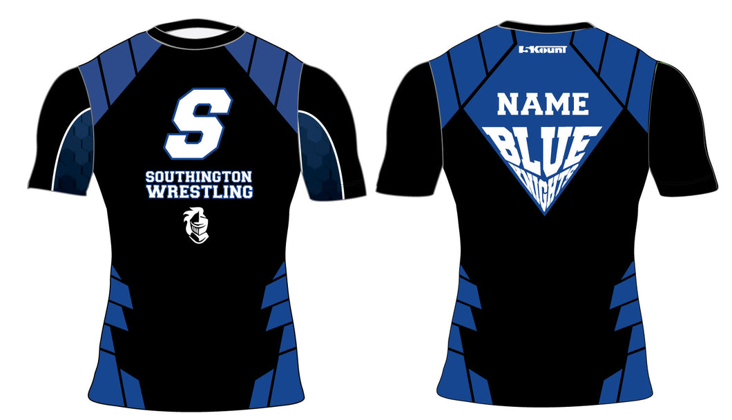 Southington HS Sublimated Compression Shirt
