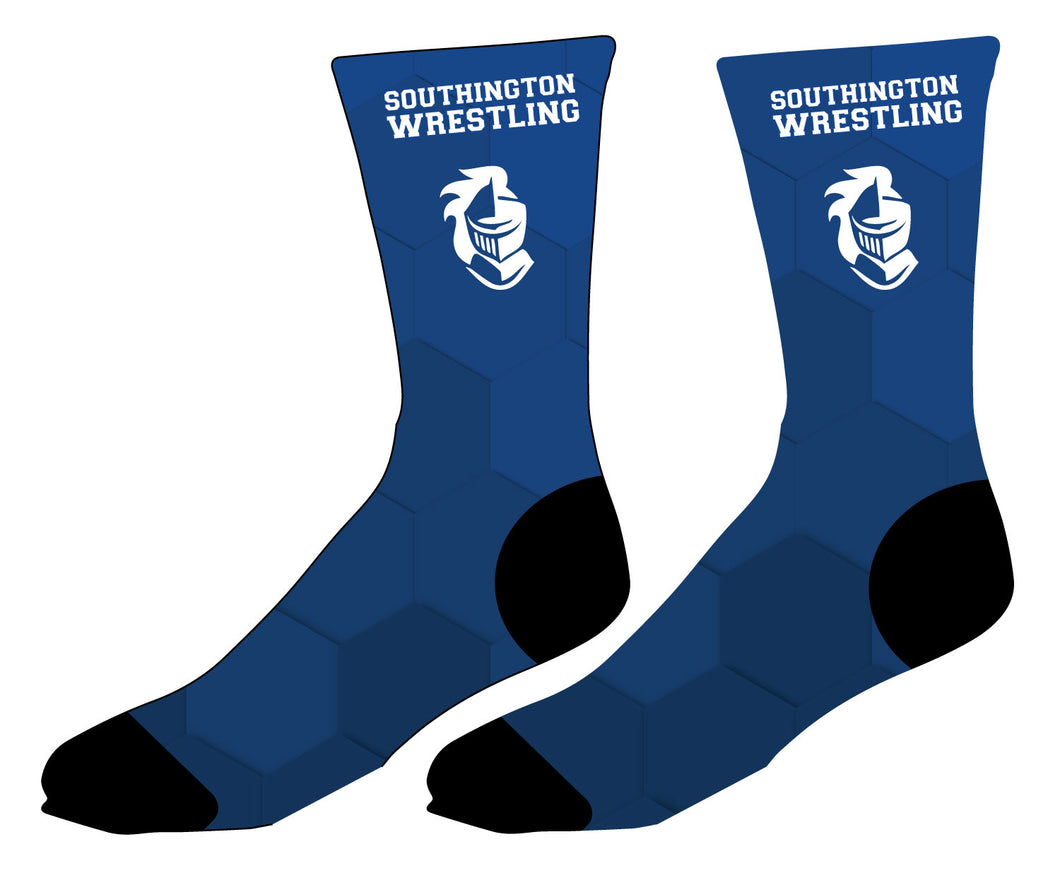 Southington HS Sublimated Socks - 5KounT2018