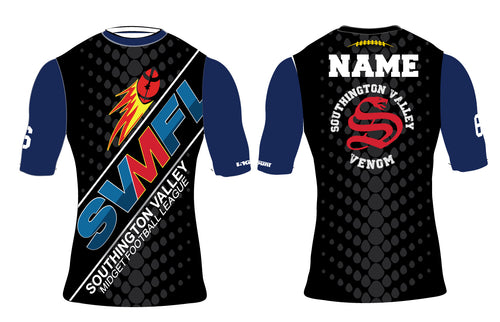 Southington Valley Venom Sublimated 3/4 Compression Shirt