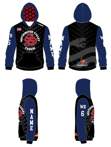 Southington Valley Venom Sublimated Hoodie - 5KounT2018