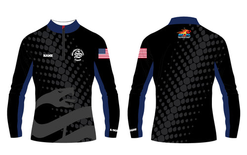 Southington Valley Venom Sublimated Quarter Zip - 5KounT2018