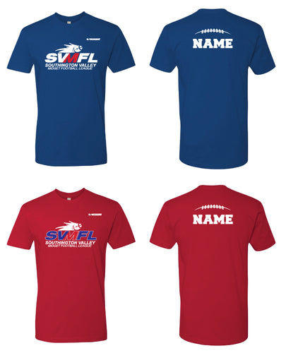 SVMFL Cotton Crew Tee - Royal Blue or Red