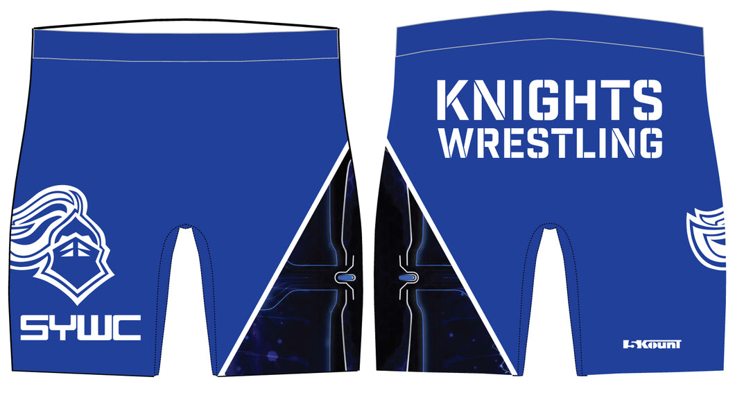 SYWC Sublimated Compression Shorts