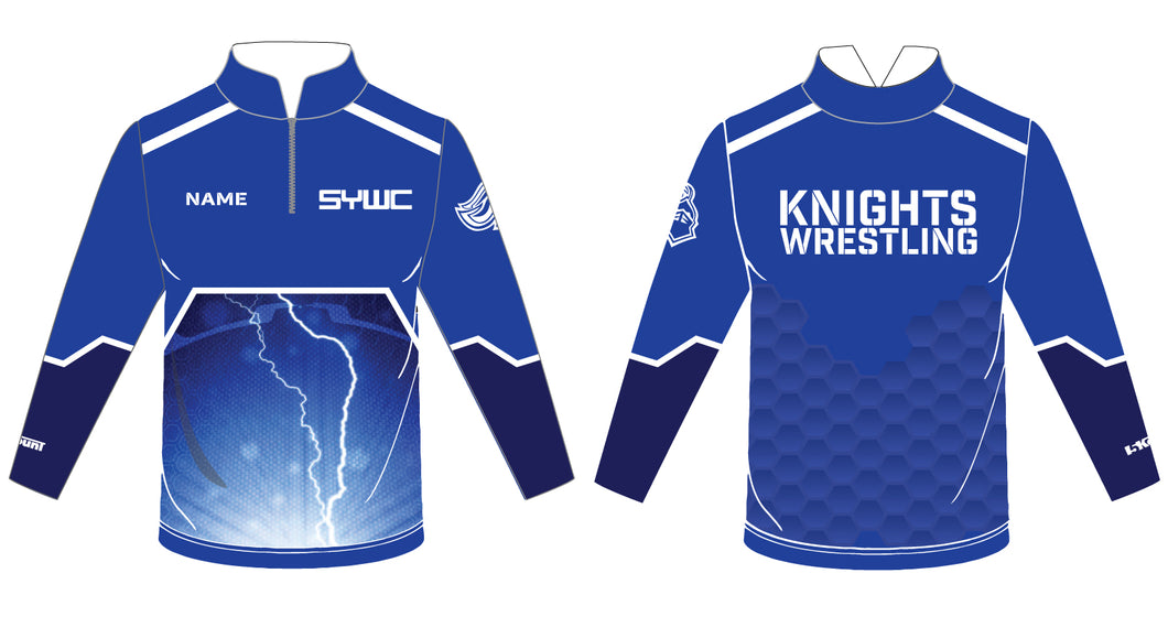 SYWC Sublimated Quarter Zip