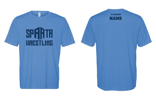Sparta Youth Wrestling Sublimated DryFit Performance Tee - 5KounT