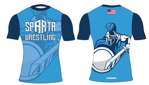 Sparta Youth Wrestling Sublimated Compression Shirt - 5KounT