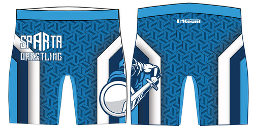Sparta Youth Wrestling Sublimated Compression Shorts - 5KounT