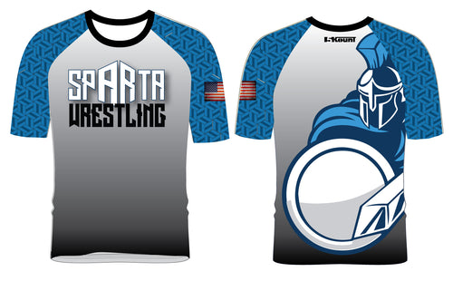 Sparta Youth  Wrestling Sublimated Fight Shirt - 5KounT