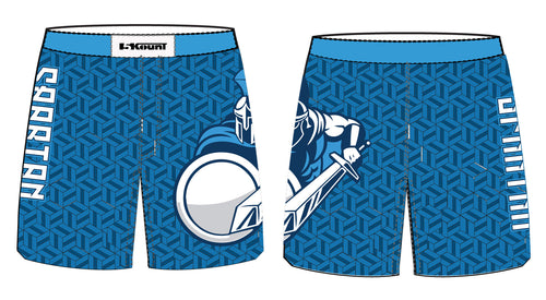 Sparta Youth Wrestling Sublimated Fight Shorts - 5KounT