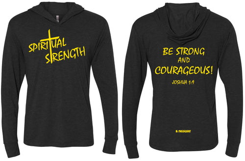 Spiritual Strength Triblend Hooded Tee