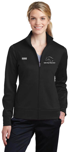 Saddle Ridge Ladies Fleece Full-Zip Jacket - 5KounT2018