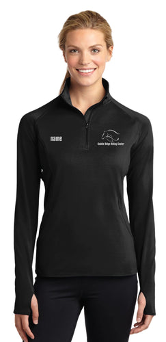 Saddle Ridge Ladies Sport Half Zip Pullover - 5KounT2018