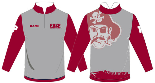 St. Peter's Prep Sublimated Quarter Zip - 5KounT2018