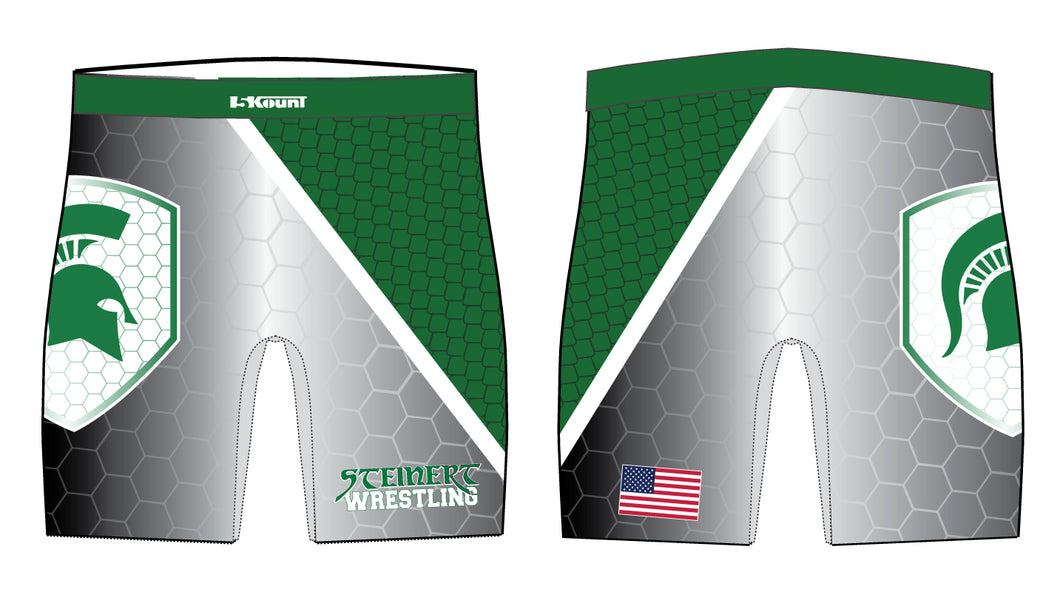 Steinert Wrestling Sublimated Compression Shorts - 5KounT2018