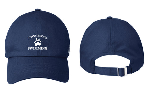 Stony Brook Swimming Under Armour Men's Adjustable Cap - Navy - 5KounT2018
