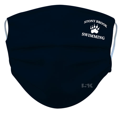 Stony Brook Swimming Reusable Face Mask - 5KounT2018
