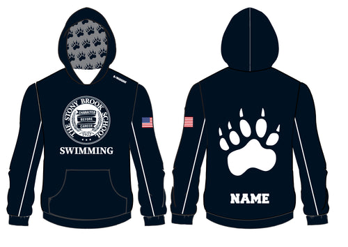Stony Brook Swimming Sublimated Hoodie - 5KounT2018