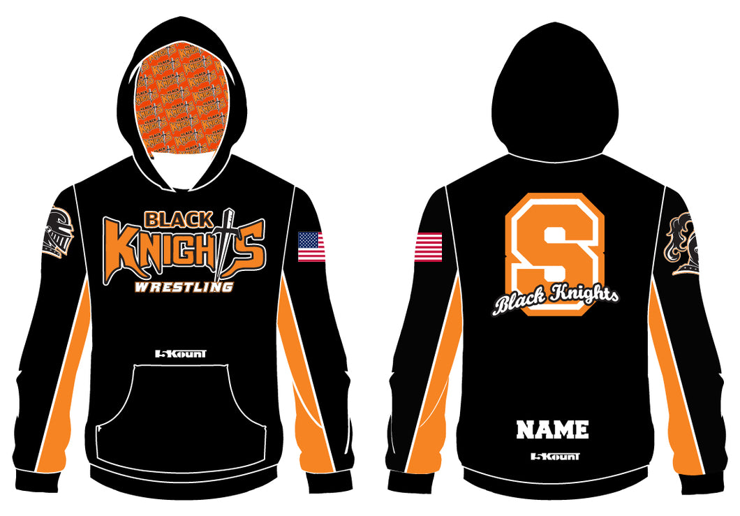 Black Knights Wrestling Sublimated Hoodie - 5KounT