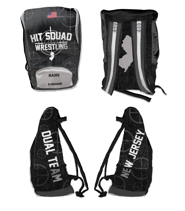 NJHit Squad Sublimated Backpack - 5KounT