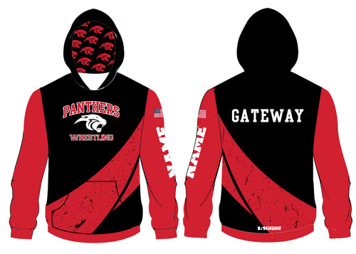 Gateway Panthers Wrestling Sublimated Hoodie