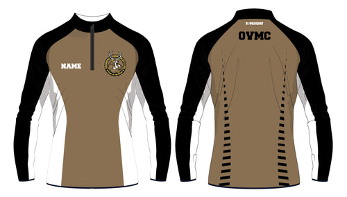 OVMC Sublimated Quarter Zip