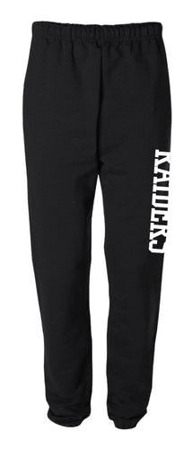 Raiders Cotton Sweatpants - Black - 5KounT