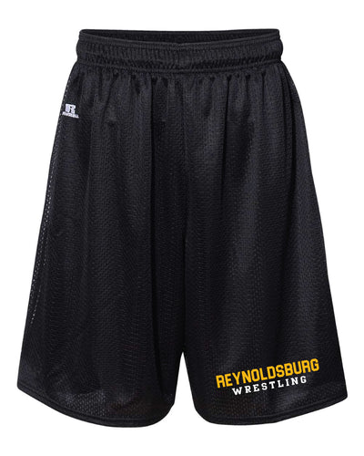 Reynoldsburg Wrestling Russell Athletic Tech Shorts - Black