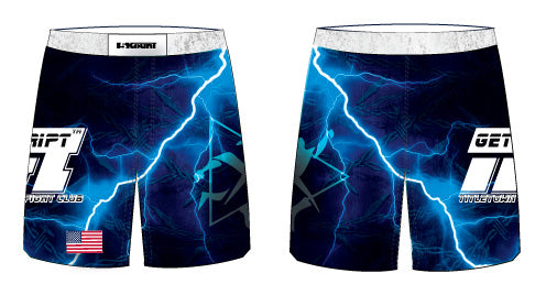 TFC Sublimated Fight Shorts - 5KounT2018