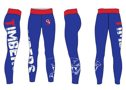 Timbers Sublimated Ladies Legging - 5KounT