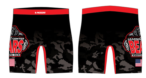 TLC Bears Wrestling Club Sublimated Compression Shorts
