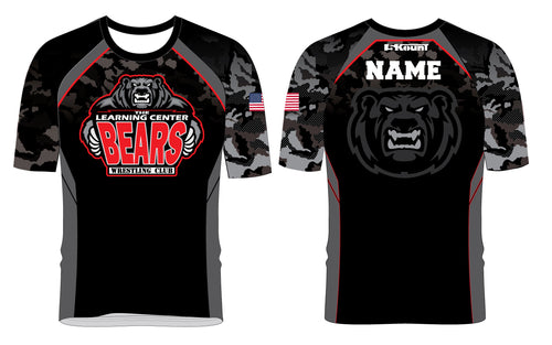 TLC Bears Wrestling Club Sublimated Fight Shirt