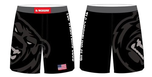 TLC Bears Wrestling Club Sublimated Fight Shorts