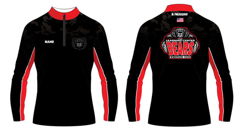 TLC Bears Wrestling Club Sublimated Quarter Zip