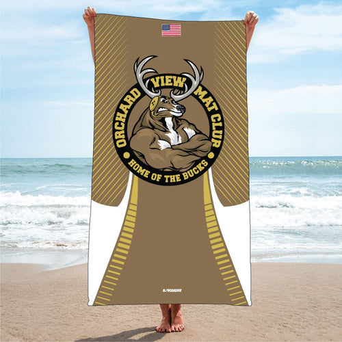 OVMC Sublimated Beach Towel