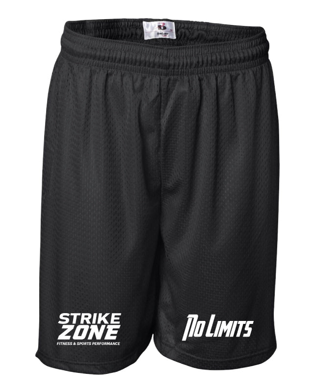 Strike Zone Tech Shorts - Black