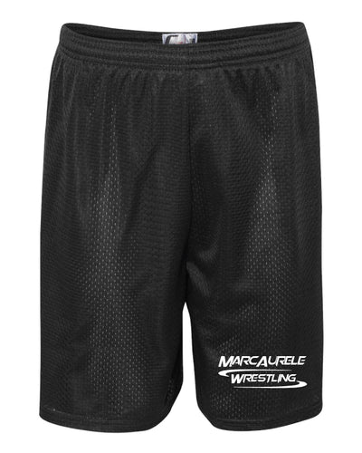 MarcAurele Tech Shorts - Black/Royal