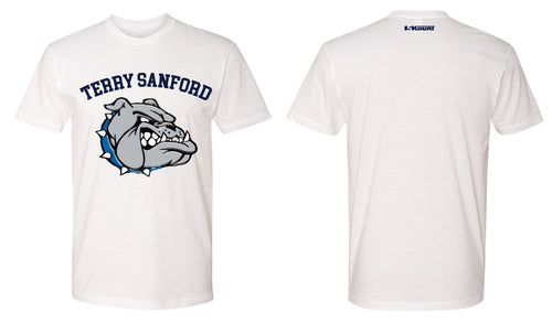 Terry Sanford Cotton Crew Tee - White - 5KounT
