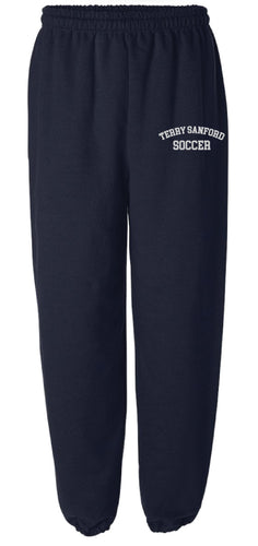 Terry Sanford Cotton Sweatpants - Navy - 5KounT